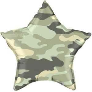 Звезда, Камуфляж, Зеленый, 46см