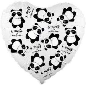 Сердце, Панды в невесомости, 46см